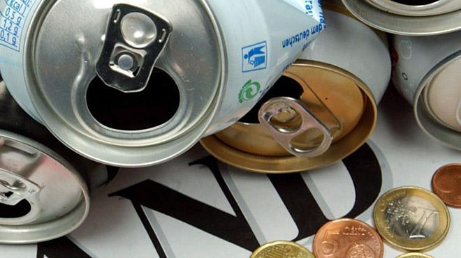5 centimes si vous déposez votre canette vide dans une machine: les tests commencent en Wallonie