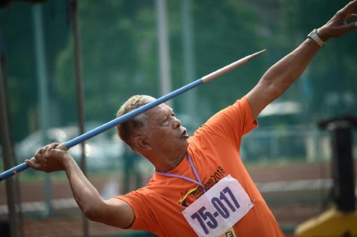 En Thaïlande, les seniors rêvent d'or pour leurs premiers jeux nationaux