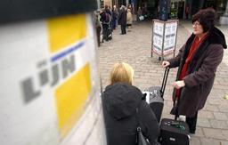 Les bus De Lijn souffrent également de la densité croissante du trafic