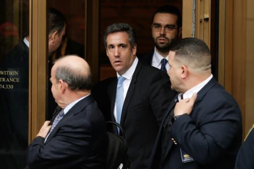 L'avocat de Trump, Michael Cohen, invoque le droit à ne pas s'incriminer