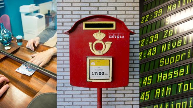Postes, banques et transports en commun: voici le point sur qui fait le
