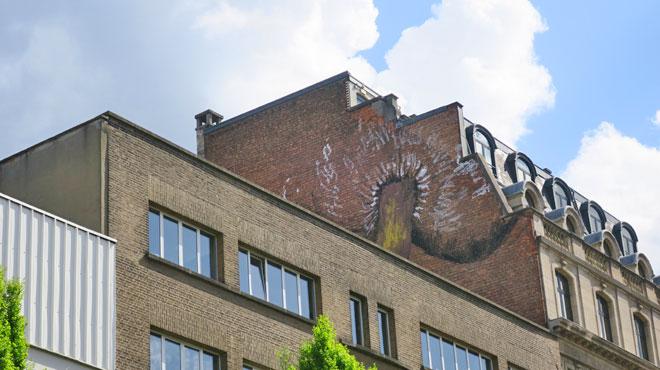 Une nouvelle fresque explicite apparaît à Bruxelles