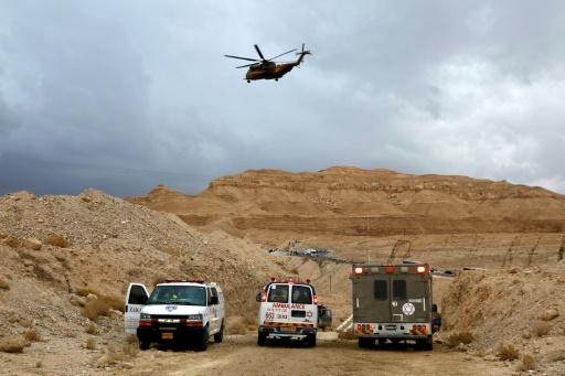 Neuf Israéliens morts à la suite d'une crue