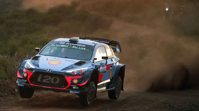 Rallye d'Argentine: Thierry Neuville démarre fort