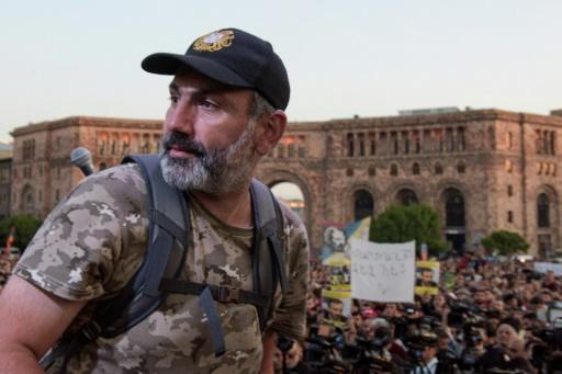 Arménie: le Premier ministre par intérim refuse de négocier avec l'opposant Pachinian