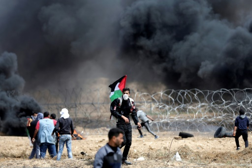 Des milliers de Palestiniens manifestent à Gaza pour le 5e vendredi de suite