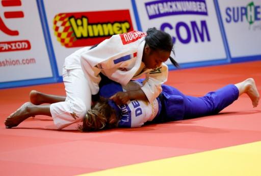 Judo: Agbegnenou championne d'Europe pour la 3e fois