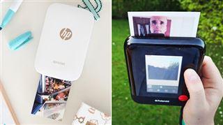 Imprimer ses photos soi-même, la nouvelle tendance- on a testé la plus petite imprimante portable pour smartphone et un étrange Polaroid