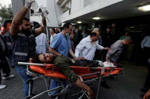 Frappe aérienne israélienne sur le port de Gaza