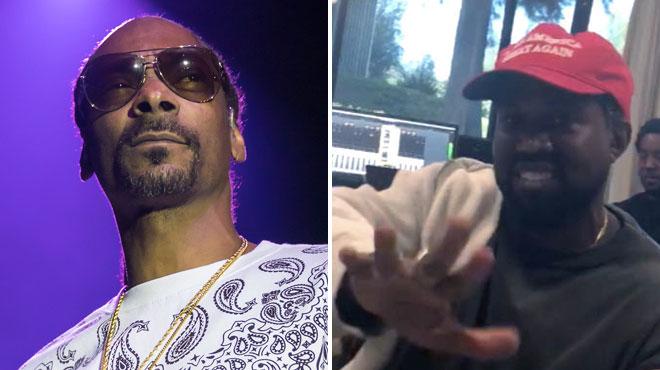 Énervé par Kanye West, Snoop Dogg lâche une BOMBE en s'attaquant à Kim Kardashian
