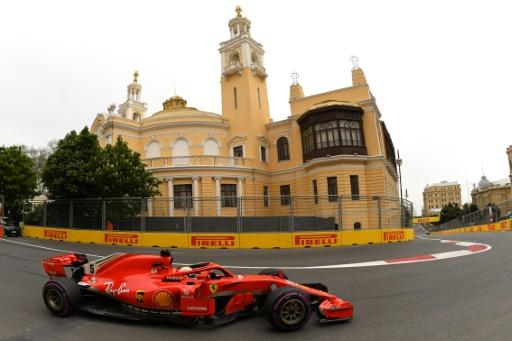 GP d'Azerbaïdjan: Vettel revient devant à l'issue de la 3e séance d'essais libres