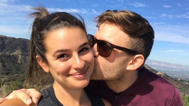 Lea Michele annonce son mariage en une photo (et un mot)