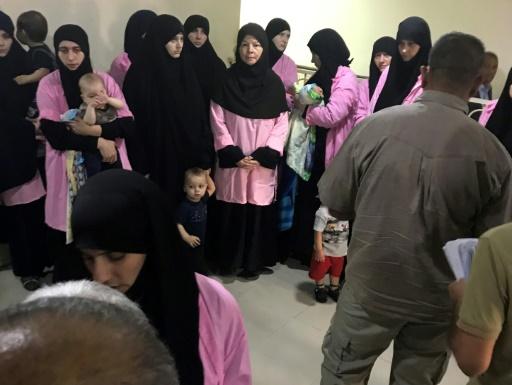 Irak: prison à vie pour 19 femmes russes ayant rejoint l'EI