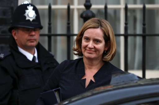 Royaume-Uni: démission de la ministre de l'Intérieur, coup dur pour May
