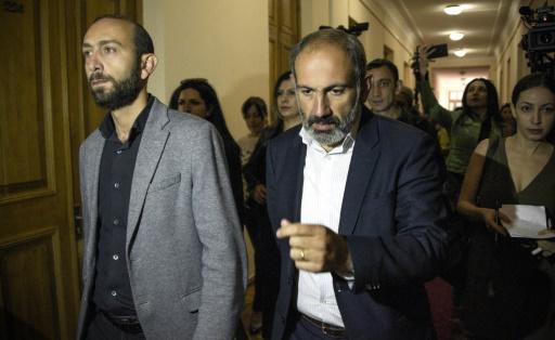 Arménie: le chef de l'opposition Pachinian candidat officiel au poste de Premier ministre