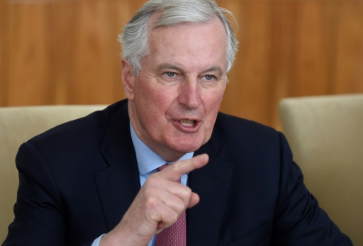 Brexit: Barnier avertit du risque lié à la question irlandaise