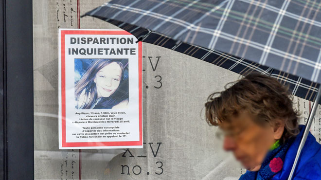 Le meurtrier présumé d'Angélique a été son voisin: