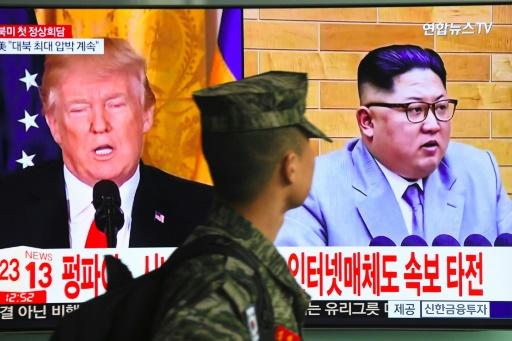 Sommet avec Kim: Trump tenté par la frontière entre les deux Corées