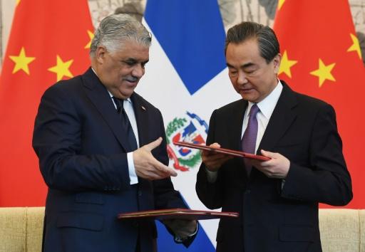La République dominicaine se rapproche de Pékin, et rompt avec Taïwan
