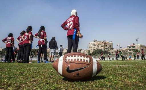 Au Caire, la ferveur des Egyptiennes pour le football américain