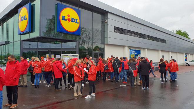 Grève chez Lidl: syndicats et direction se rencontrent ce mardi après-midi