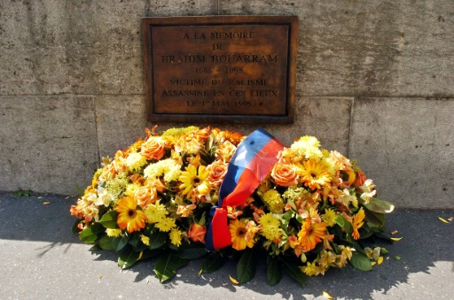 Paris: hommage à Brahim Bouarram, tué il y a 23 ans en marge d'un défilé FN