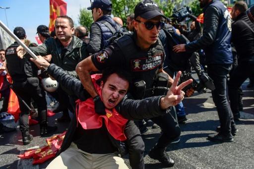 Istanbul bouclée pour le 1er mai: 84 arrestations