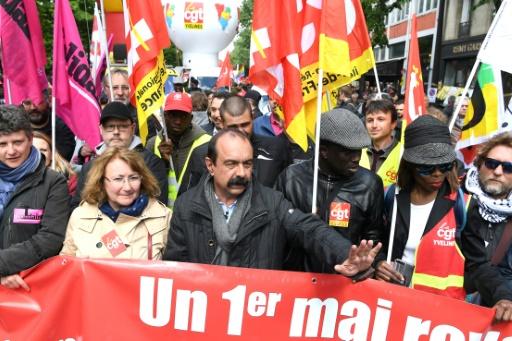 1er Mai: Philippe Martinez critique la gestion des débordements par les autorités