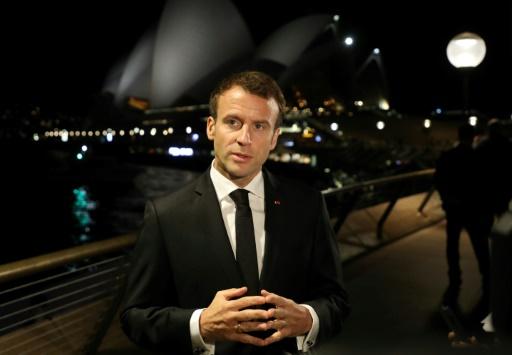 Emmanuel Macron condamne