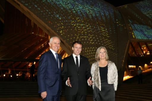 Macron à Sydney pour