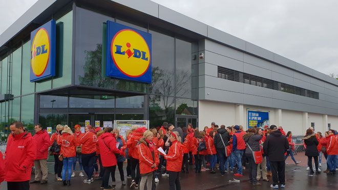 Grève chez Lidl: direction et syndicats aboutissent à un accord