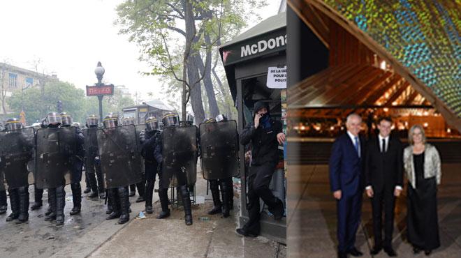 Macron, vivement critiqué ce matin dans la presse française pour