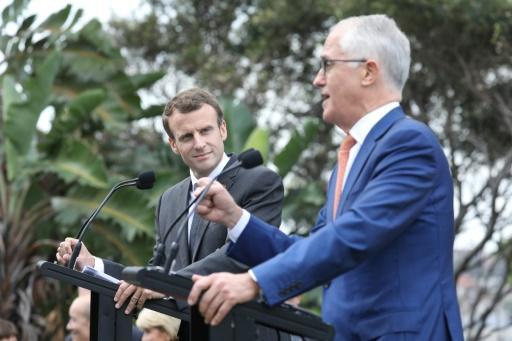 Macron signe plusieurs accords institutionnels et commerciaux avec l'Australie