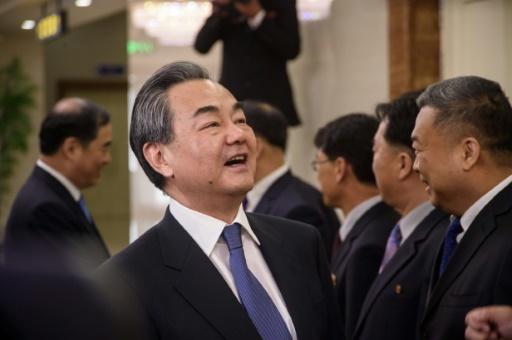 Le ministre chinois des Affaires étrangères à Pyongyang