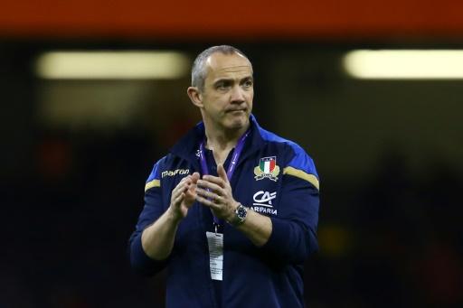 Rugby: l'Italie au Japon sans Parisse