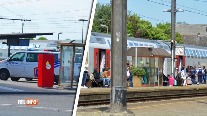 Le train Tournai-Bruxelles stoppé à Leuze-en-Hainaut: trois individus ont agressé un accompagnateur du train