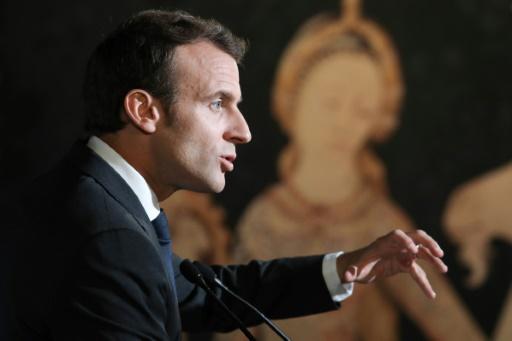 Macron annonce la suppression de l'