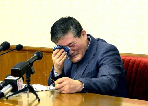 Les trois Américains détenus en Corée du Nord