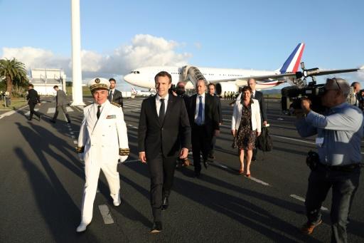 Macron en Nouvelle-Calédonie pour célébrer