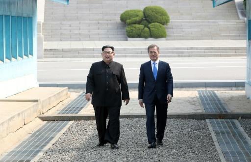 Corée du Sud: le président Moon à des sommets de popularité
