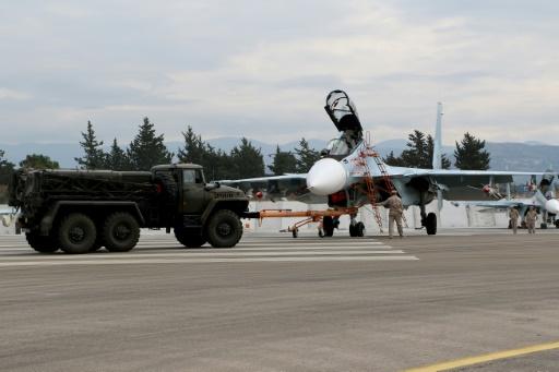 Un avion de combat russe s'écrase au large de la Syrie, les deux pilotes tués