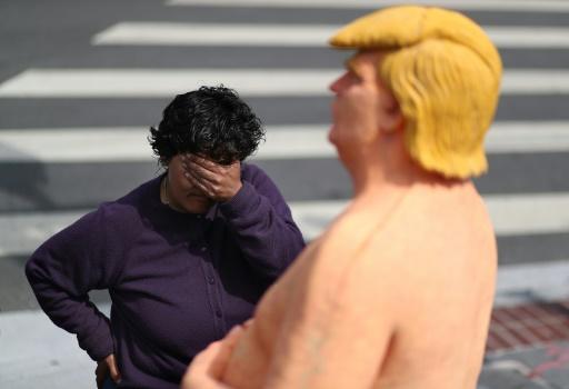 Une statue de Donald Trump nu adjugée 28.000 dollars