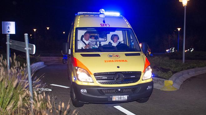 Violente collision frontale à Frasnes ce matin: un conducteur coincé dans les tôles de son véhicule, les pompiers toujours sur place