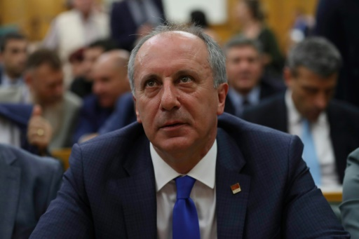 Turquie: le principal parti d'opposition désigne un député pour affronter Erdogan