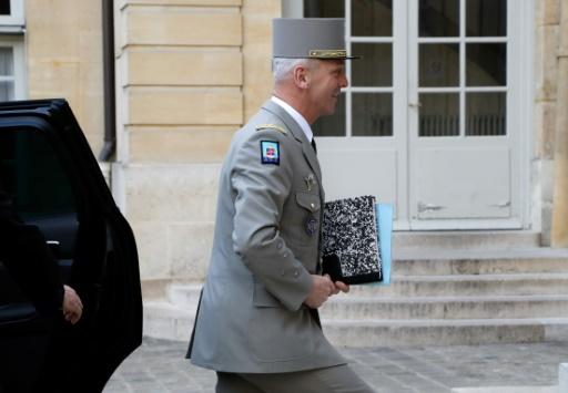 Le chef d'état-major français