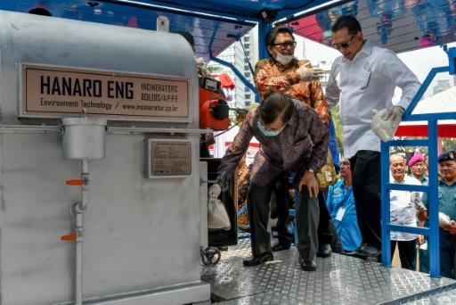 Indonésie: 2,6 tonnes de drogue incinérées