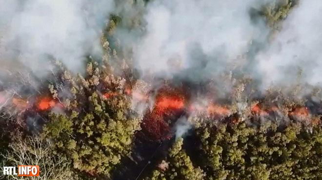 Des milliers d'habitants fuient une éruption à Hawaï: de la lave à plus de 1000 degrés se propage dans l'archipel