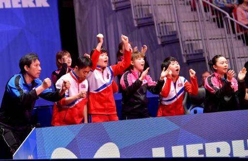 Tennis de table: les deux Corées unies mais battues par le Japon