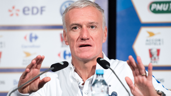mondial 2018 didier deschamps repousse la date pour d voiler sa liste rtl sport. Black Bedroom Furniture Sets. Home Design Ideas