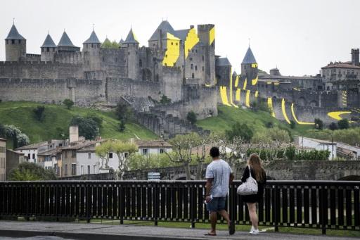 La Cité de Carcassonne fête ses 20 ans au patrimoine mondial avec une oeuvre monumentale